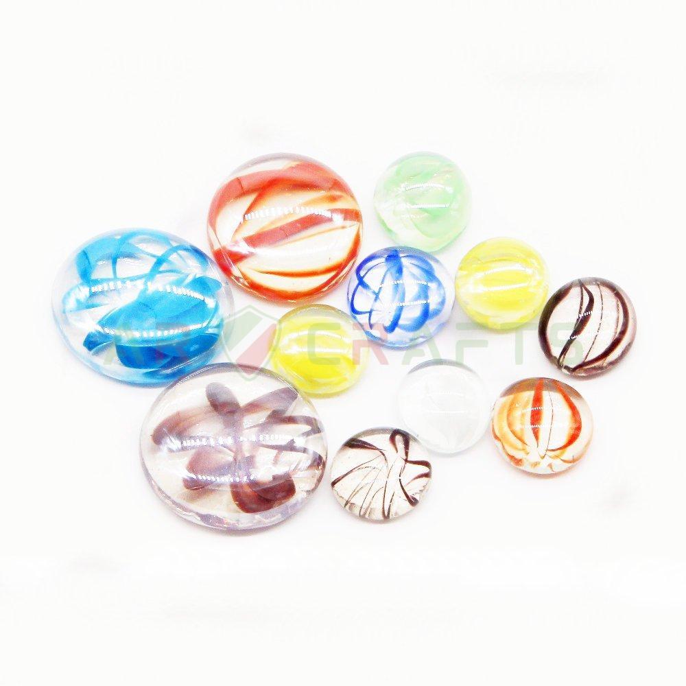 2 Glass Gem, glass craft,glass bead,home decoration,Garden decoration,glass decoration