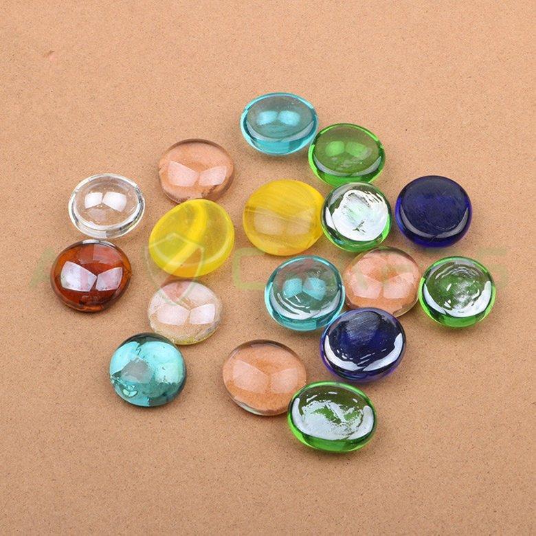3 Glass Gem, glass craft,glass bead,home decoration,Garden decoration,glass decoration