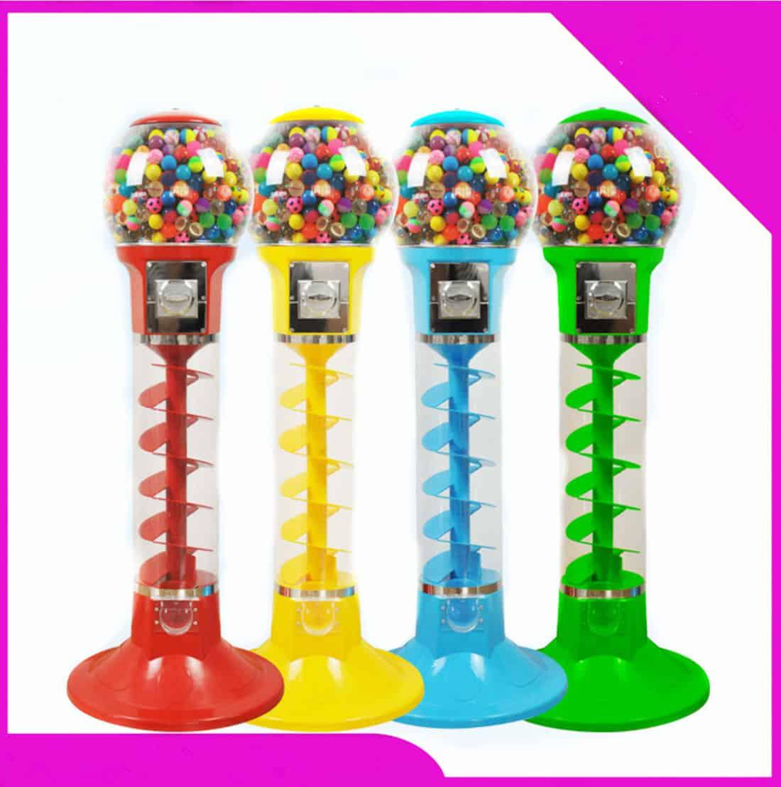 Vending machine, bouncy ball machine
