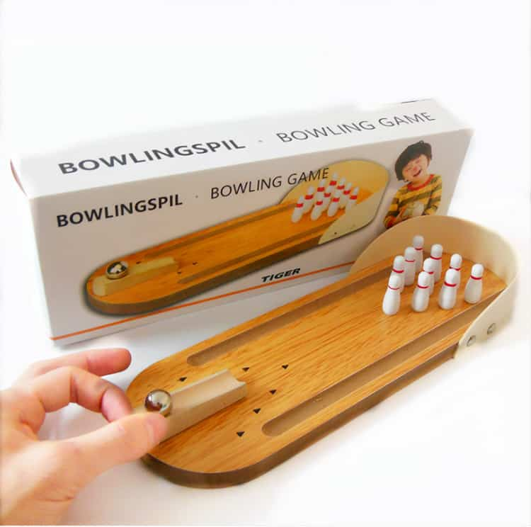 Bowling game,wooden toy,toy wooden3