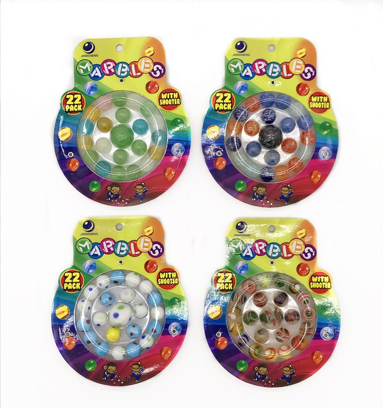 Glass marble, toy marble,toy ball, marble set,marble game,marble blistercard, 16MM marble (92)