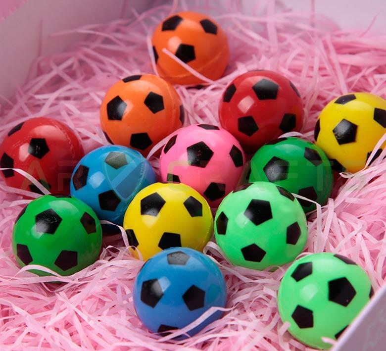 Bouncy ball -Jumping ball-Rubber Ball-Plastic ball-Soft ball-Toy ball(Footballl) (2)