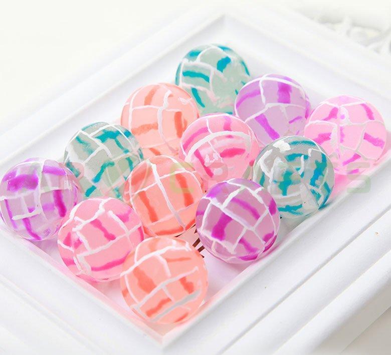 Bouncy ball -Jumping ball-Rubber Ball-Plastic ball-Soft ball-Toy ball(Line ball) (8)