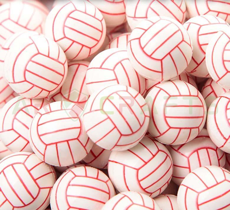 Bouncy ball -Jumping ball-Rubber Ball-Plastic ball-Soft ball-Toy ball(Volleyball) (5)