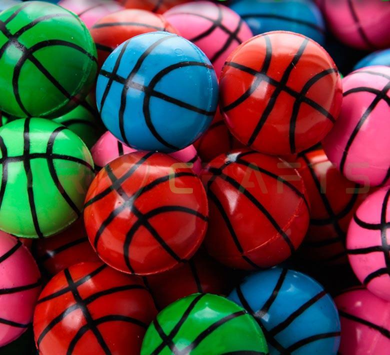 Bouncy ball -Jumping ball-Rubber Ball-Plastic ball-Soft ball-Toy ball(basketball )