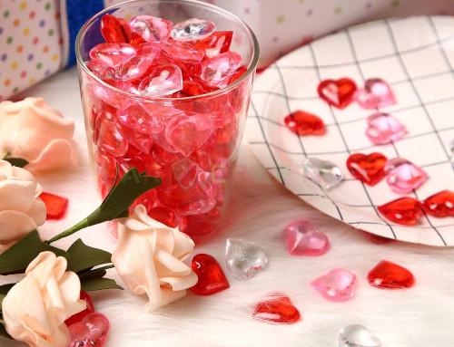 wedding decorations ,heart acrylic ,JGA-020