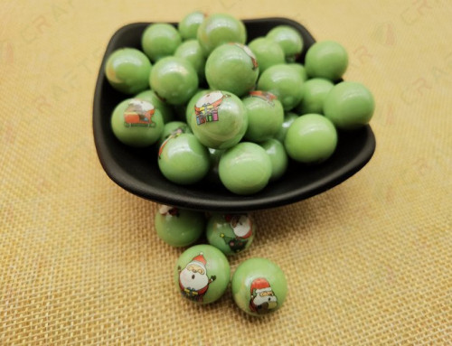 hit promotional products ,green ball ,JGP-016