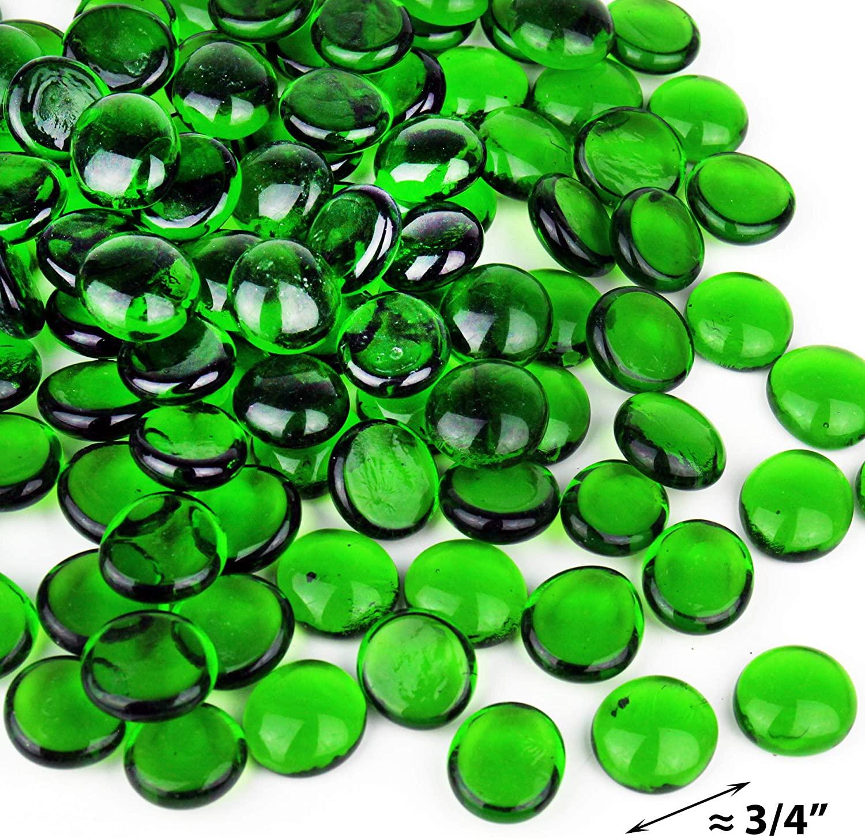 Silver glass beads, flat glass beads, glass gems, decoration, glass decoration,gemstone,glass pebbles